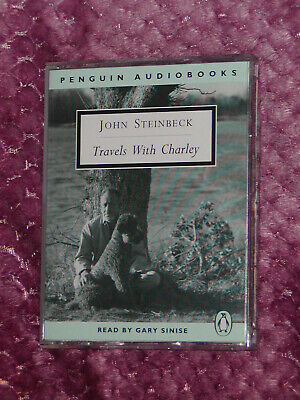 Travels with Charley - John Steinbeck. 6 x cassette audiobook.