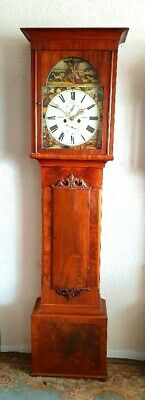 A Fine Scottish Mahogany Longcase Grandfather Clock C1840
