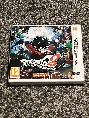 Persona Q2 New Cinema Labyrinth Nintendo 3Ds Uk Pal New Sealed