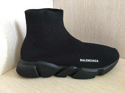 Balenciaga Rubber Speed Knit Sneakers in Yellow Lyst