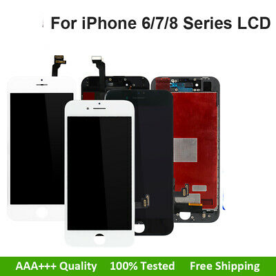 AAA Screen Replacement LCD Display For Apple iPhone 6s 7 6 8 Plus Black or White