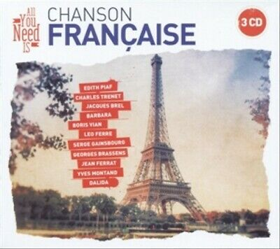 Various - All You Need Is: French Chanson