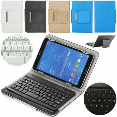 """UK For HUAWEI MediaPad T3 M3 M5 7"""" 8"""" 10.1"""" Tablet Leather Case Cover +Keyboard"""