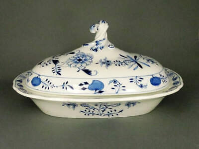 Lid Bowl Onion Pattern Meissen