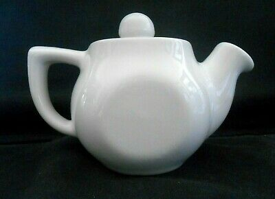 Collector H. F. Coors U.S.A White Chefsware #16 Teapot/Creamer w/Lid Unused w1s7