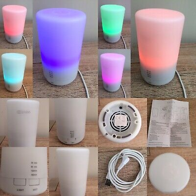 Avon Zaria Aroma Diffuser & Mood Light Timer Boxed Instructions Preloved