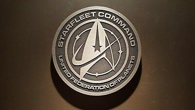 star trek Starfleet command plaque USS Enterprise