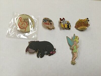 Disney Pin Trading Assorted Pin Lot