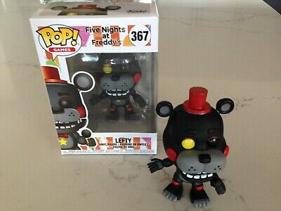 FUNKO POP FIVE Nights at Freddy's 6 Pizza Sim Lefty #367