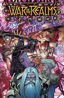 War of the Realms #6 MARVEL Comics NM