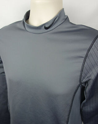 Nike Shirt Pro Combat Long Sleeve Mens Athletic Sports Stay Warm Top Tee