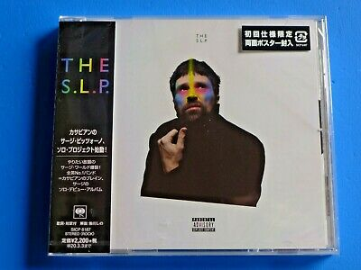 2019 JAPAN CD THE S.L.P. SLP KASABIAN SERGE PIZZORNO w/MINI POSTER INSERTED