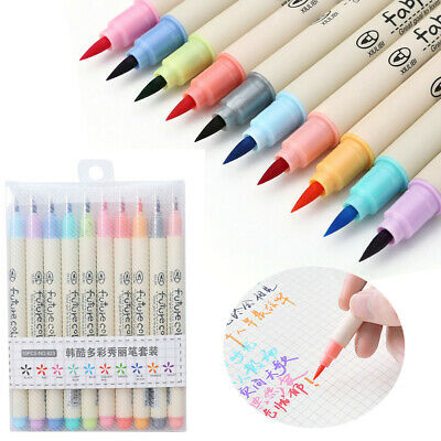 Water Color Calligraphy Drawing Sketch Stationery Art Marker Brush Pen Pencil