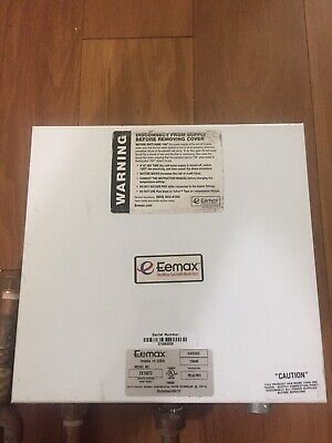 Eemax tankless Water heater EX190T2