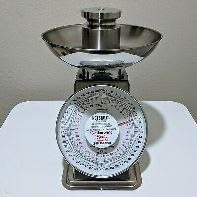 AccuWeigh SM(N)-54PK Mechanical Scale (50 x 0.25lb)