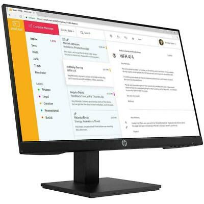 "HP EliteDisplay P244 23.8"" 24"" FHD Business Monitor 16:9 HDMI VESA LED IPS 3Y"