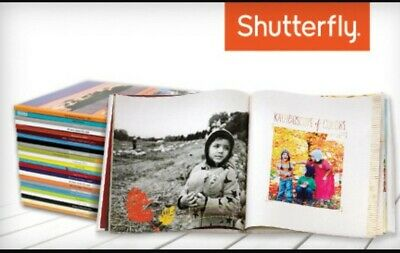 Shutterfly Complimentary 8x8 Photo Book Code, exp 01/31/2020