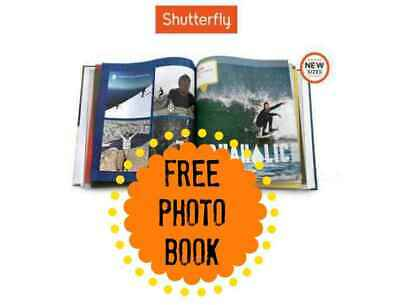 Shutterfly 8X8 Hard Cover Photo Book Code expires 1/31/20