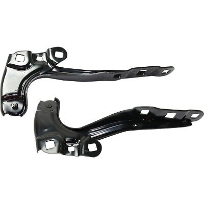 New Set of 2 Hood Hinges Driver & Passenger Side for Chevy LH RH Equinox 18 Pair