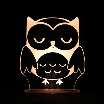 NEW My Dream Light Remote controlled LED Childrens Colour Night Light - OWL