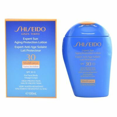 S0551822 278304 Lotion Solaire Expert Sun Aging Protection Shiseido Spf 30 (100