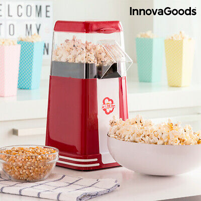 V0101011 176752 Machine à Pop-Corn Hot & Salty Times InnovaGoods 1200W Rouge