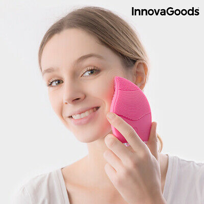 V0100682 173661 Masseur Nettoyant Facial Rechargeable InnovaGoods