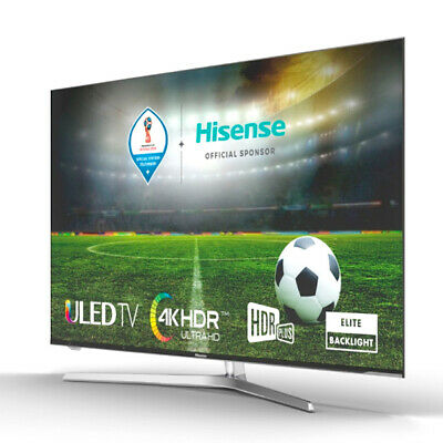 "S0416222 171341 TV intelligente Hisense H55U7A 55"" Ultra HD 4K ULED WIFI Argenté"
