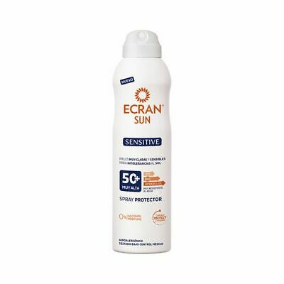 S0543013 176751 Spray Protecteur Solaire Sensitive Ecran SPF 50+ (250 ml)