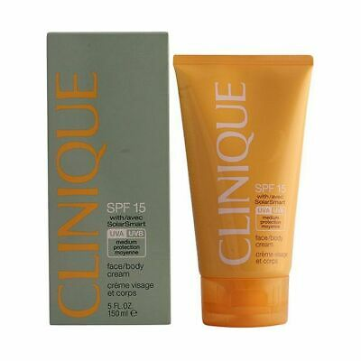 S0545587 176751 Lotion Solaire Sun Facebody Clinique SPF 15 (150 ml)