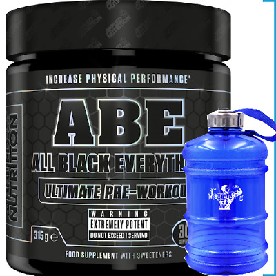 Applied Nutrition ABE315g Strong Pre Workout 30 Servings & Speaker