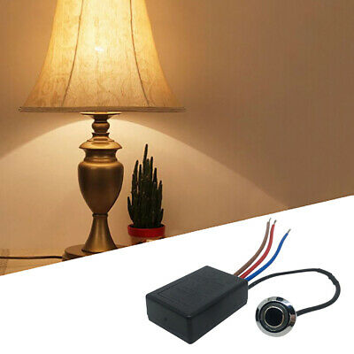 LD-600S Build-in 3 Way Finger Touch Dimmer ON/OFF Switch US EU~GN