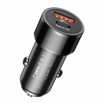 Chargeur voiture allume cigare standard PD+USB-C Baseus Small Screw