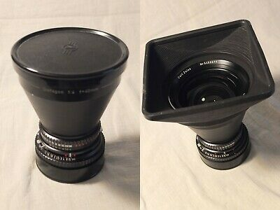 Hasselblad – Carl Zeiss Distagon 40 Mm F:1/4 T* – With  Caps + Lens Hood + Box