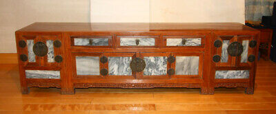 Chinese antique kanggui storage cabinet  late Qing dynasty