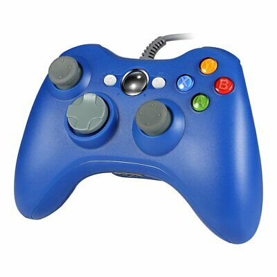 Wired USB GamePad Game Controller For Microsoft Xbox 360 Console / PC Windows US