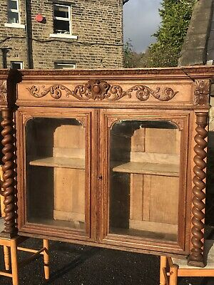 Stunning Hand Carved 170 Year Old French Cupboard