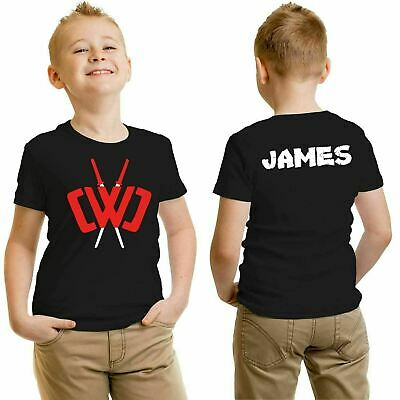 Chad Wild Clay Kids T-shirt Adventure Gaming Youtuber Boys Personalised T-shirt