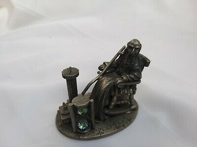 Pewter Old Father Time Wapw Uk By Mark Locker -Collectable Tudor Mint