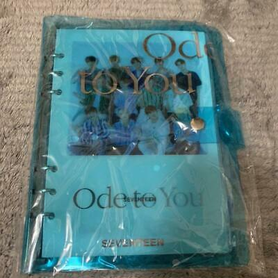 SEVENTEEN WORLD TOUR Ode to You in Seoul official photocard case binder