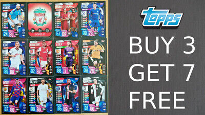 Match Attax 2019/20 19/20 Base Cards - Team Badges Duo Cards - Champions League