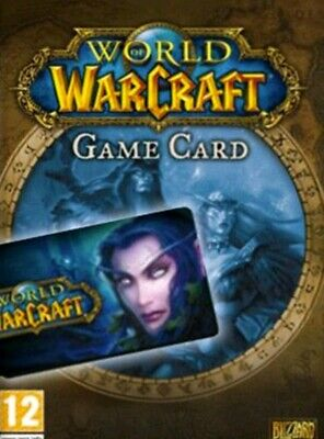 World of Warcraft 30 Day Pre-Paid Time Card - [PC] (Battle.net) North America