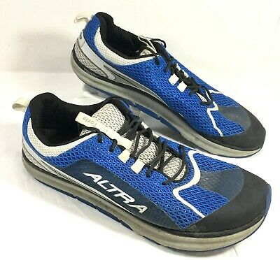 GUC Men's Altra Torin Running Shoes Blue Black Sz 12.5 M