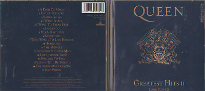Queen - Greatest Hits Volume Ii - 007777979127 - 17 Track Cd Album