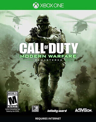 Call Of Duty Modern Warfare Remastered Videogioco Xbox One Z8075IT ACTIVISION
