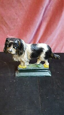 Design Toscano SP507 Naughty Peeing Scotty Dog Die-Cast Iron Bookend and Doorstop