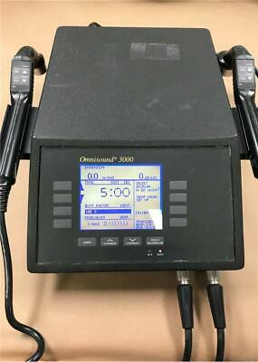 PTI Omnisound 3000 Ultrasound Therapy System *WORKING*