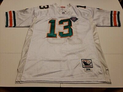 low price 83636 7ab6d DAN MARINO #13 Miami Dolphins Throwback Jersey Mitchell ...