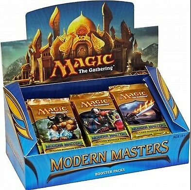 "Magic the Gathering ""Modern Masters 2013"" Booster Box Break"