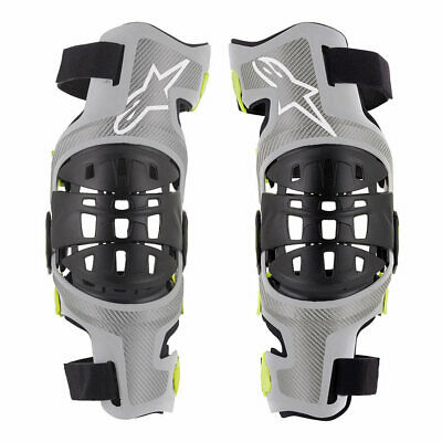 Alpinestars 2020 Bionic-7 MX Motocross Knee Braces (Pair)